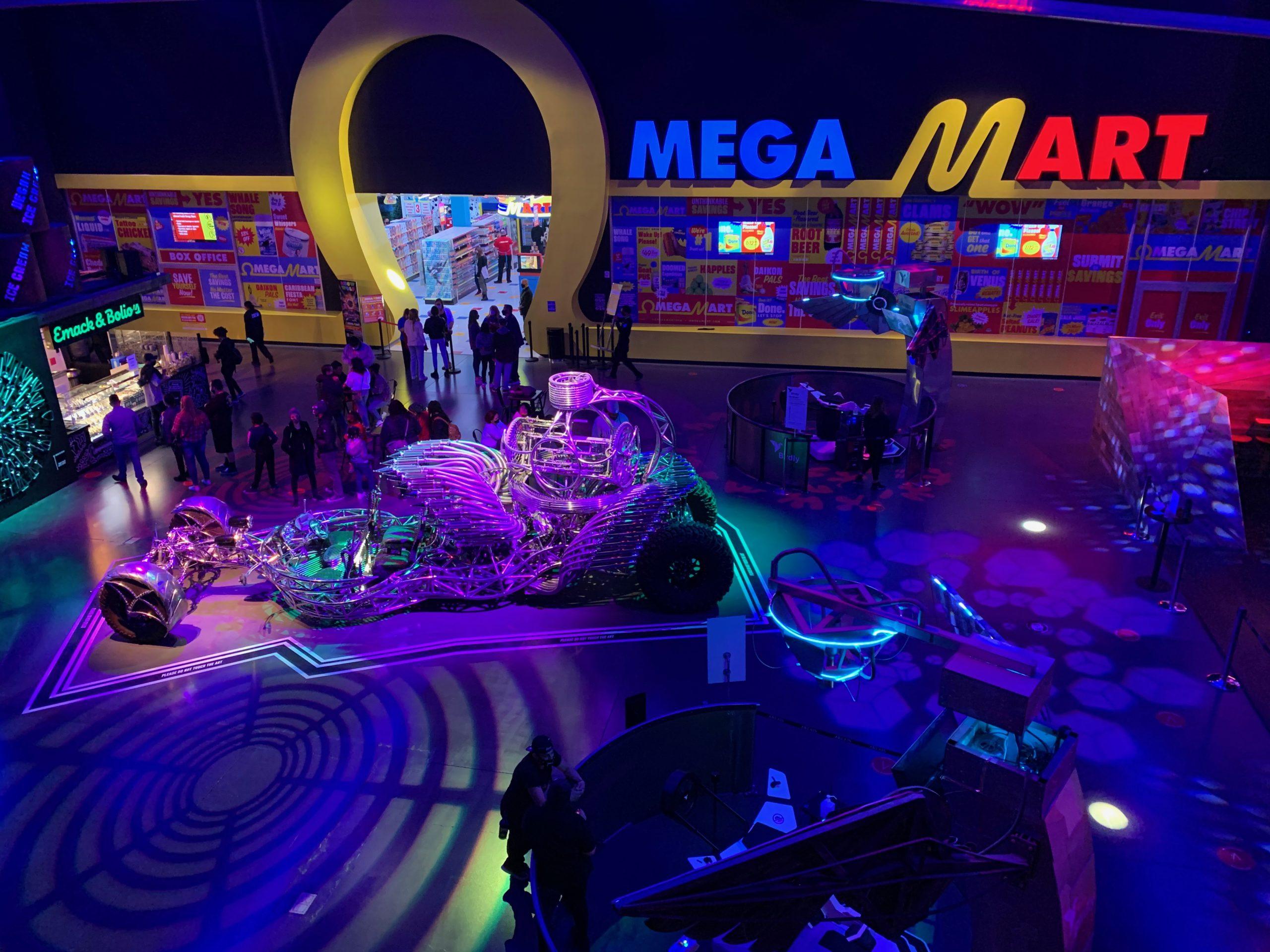 Interactive Entertainment Area 15 Lobby Omega Mart